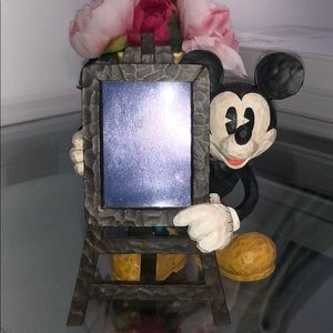 Disney Mickey Mouse w/ Easel Picture Frame
